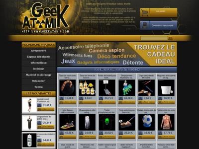 Geekatomik.com - cadeaux insolites