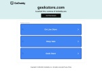 Geek Store store discount voucher coupon codes from Latest Savings