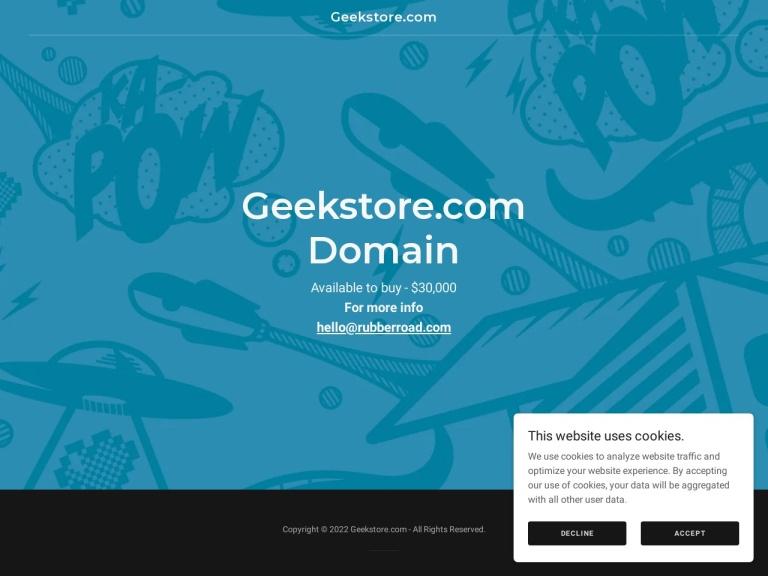 Geek Store screenshot