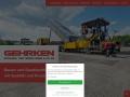 www.gehrken.de Vorschau, Gehrken Straßen- und Tiefbau GmbH