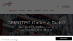 www.gemoteg.de Vorschau, Gemoteg GmbH + Co KG