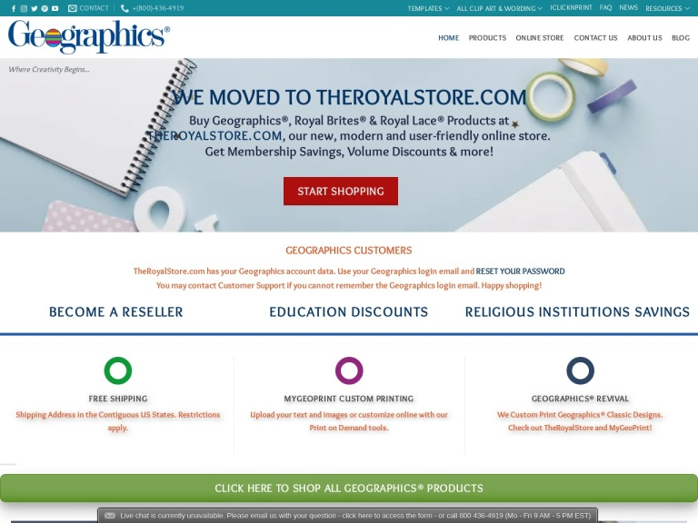 Geographics Coupon Codes