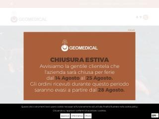 screenshot geomedical.it