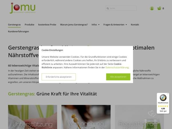 Gerstengras / Grüne Stärke