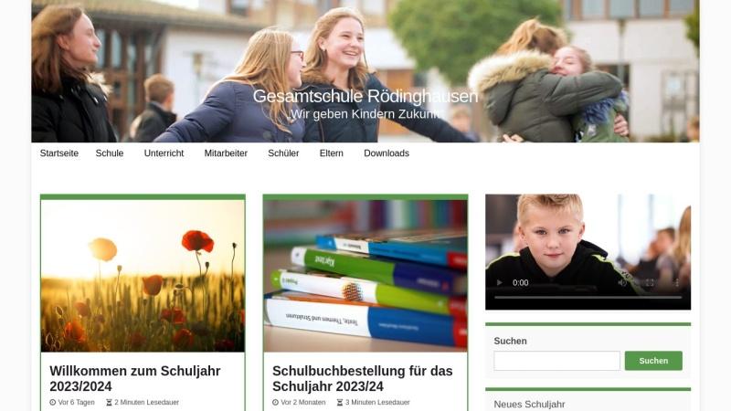 www.gesamtschule-roedinghausen.de Vorschau, Gesamtschule Rödinghausen