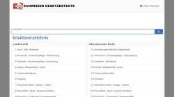 www.gesetze.ch Vorschau, www.gesetze.ch