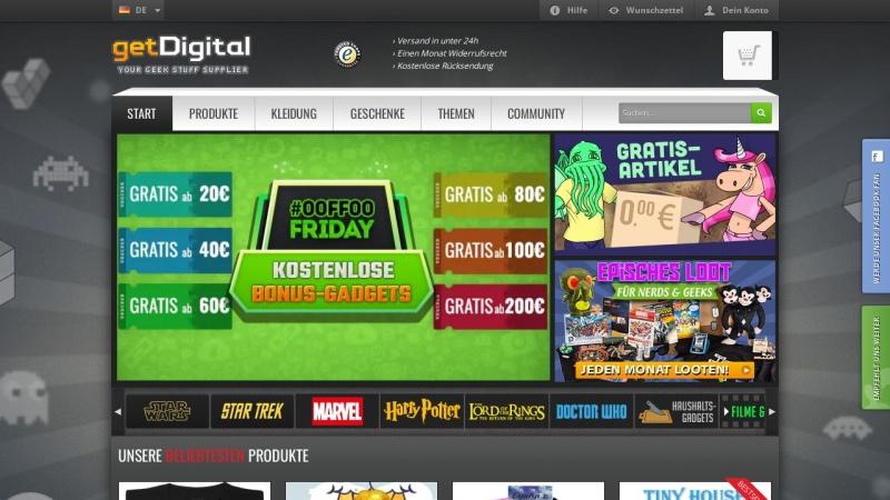 www.getdigital.de Vorschau, getDigital.de, Stern & Schatz GbR