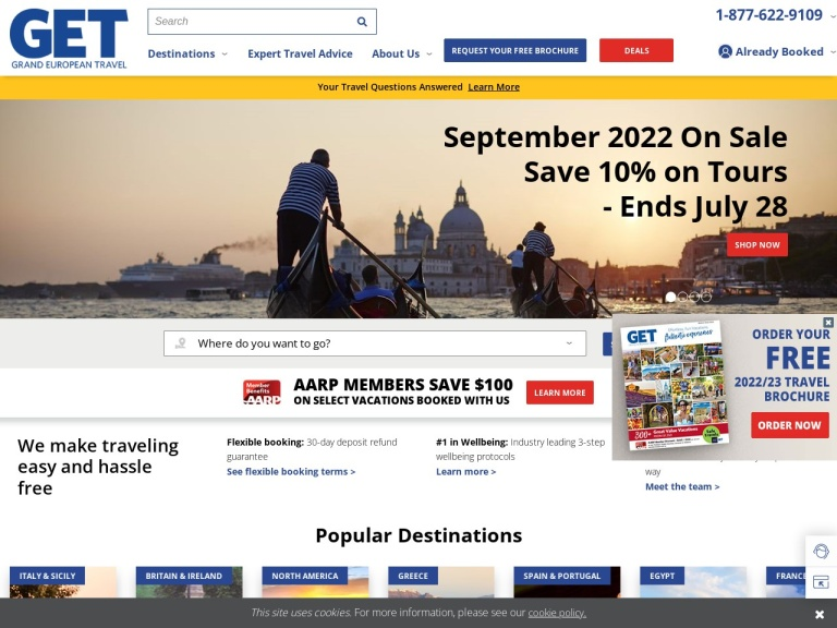 Grand European Travel screenshot