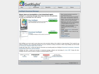 Screenshot for getright.com