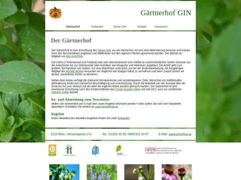 Gärtnerhof GIN