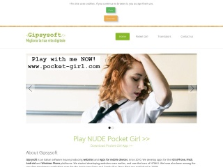 screenshot gipsysoft.it