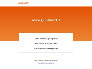 screenshot giulianosrl.it