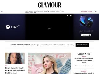 screenshot glamour.com