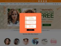 GlassesShop.com screenshot