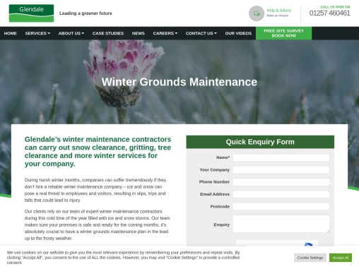 Winter Grounds Maintenance Services for 2021/22