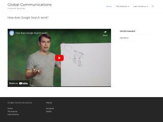 Captura de pantalla para globalcom.cl