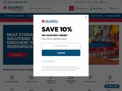 Global Industrial screenshot