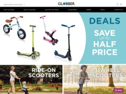 Globber.co.uk coupon codes March 2019