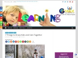 7 Things to Know Kids and Cats Together