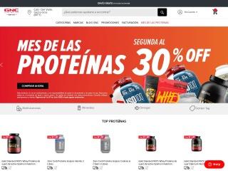 Captura de pantalla para gnc.com.mx