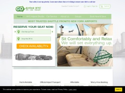 GO Airlink NYC coupon codes