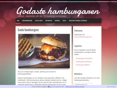 www.godahamburgare.se