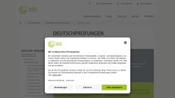 www.goethe.de Vorschau, Goethe-Institut: Prüfungsbeschreibungen