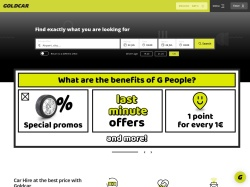 Goldcar Central Europe screenshot