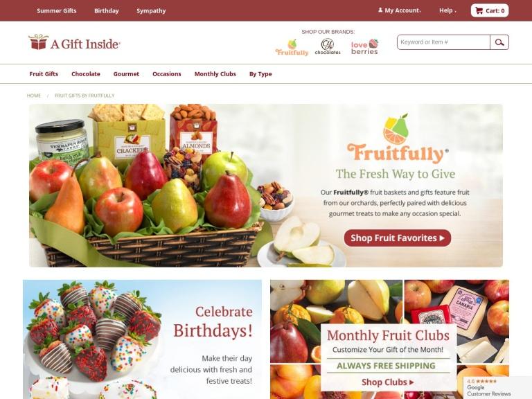 Golden State Fruit screenshot