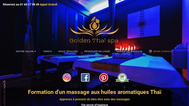 formation de massage golden thai spa