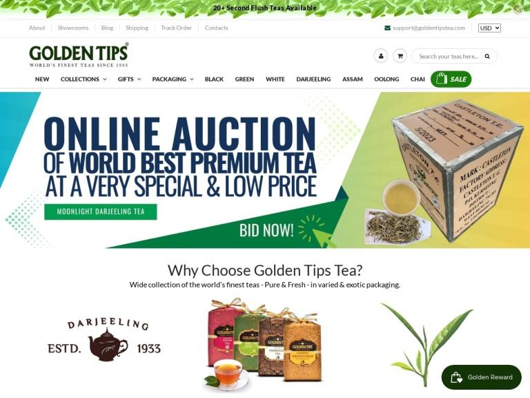 Golden Tips Tea screenshot