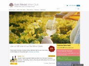 Gold Medal Wine Club coupon code