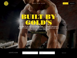 Online store Gold's Gym
