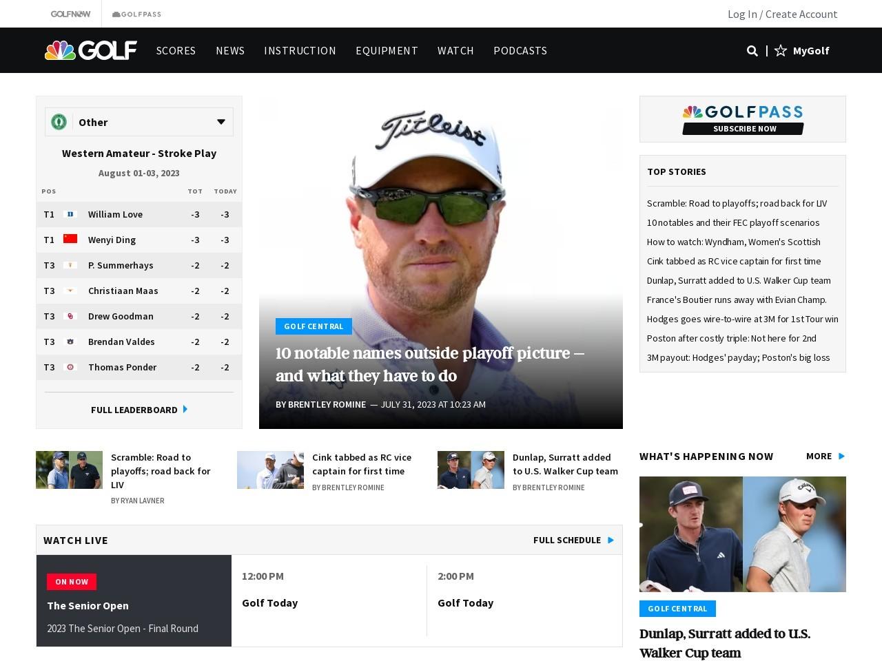 PGA of America to Follow PGA Tour's Lead on Anchoring Ban