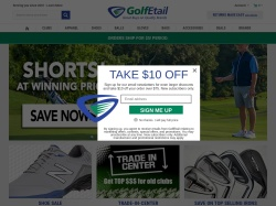 GolfEtail.com screenshot