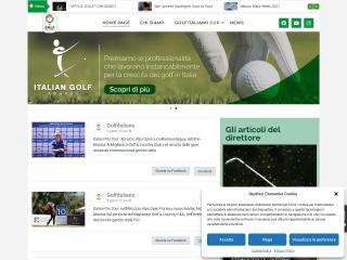 screenshot golfitaliano.it
