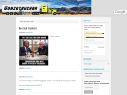 All About Ice Road Truckers - gonzotrucker.com