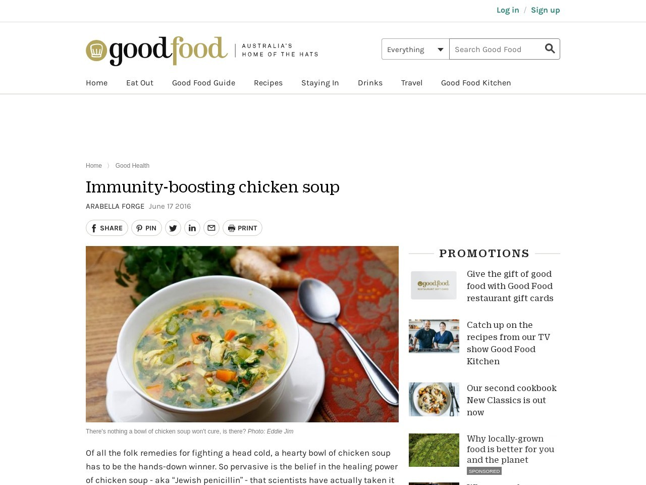 Immunity boost your chicken soup