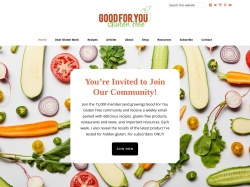 Goodforyouglutenfree coupon codes March 2018