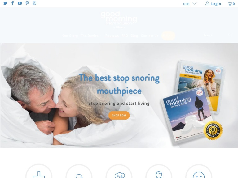 Good Morning Snore Solution screenshot