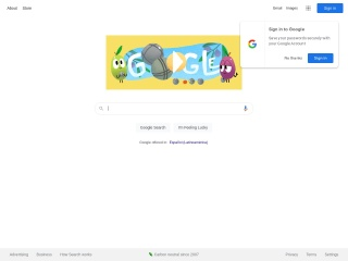 Captura de pantalla para google.com.ve