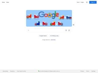 Screenshot stránky google.sk