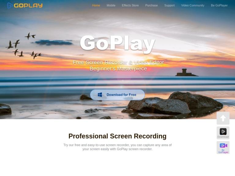 Goplayeditor screenshot