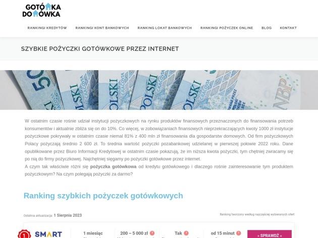 http://www.gotowkadomowka.pl/