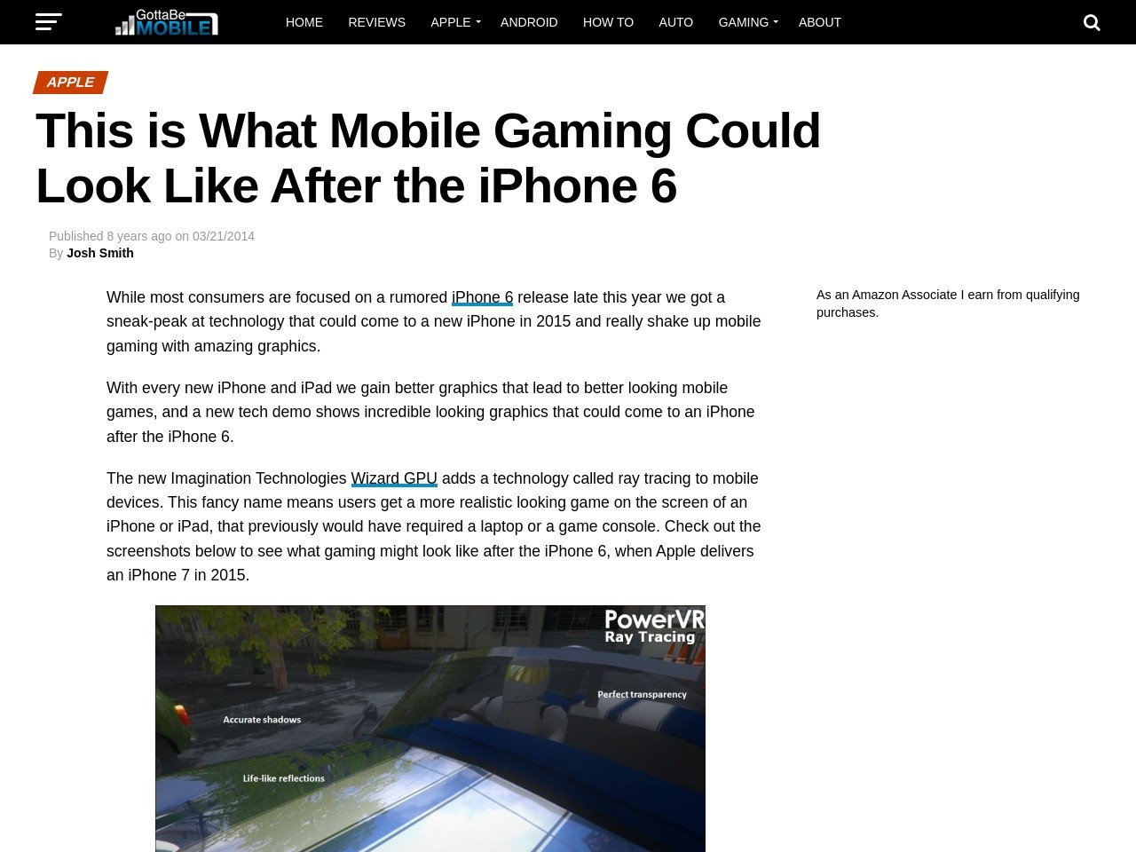 This is What Mobile Gaming Could Look Like After the iPhone 6