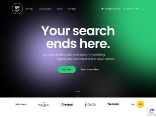 Screenshot for goup.co.uk