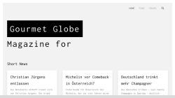 www.gourmetglobe.de Vorschau, Gourmetglobe.de