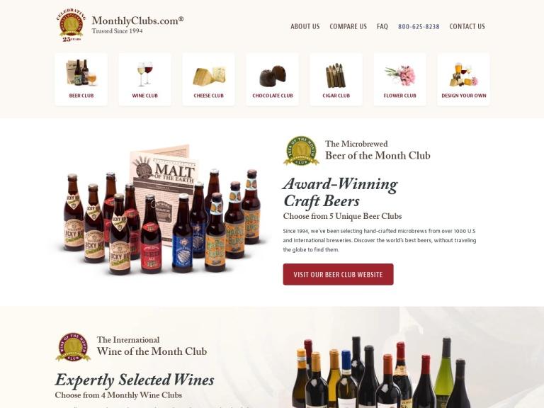Gourmet Monthly Clubs screenshot