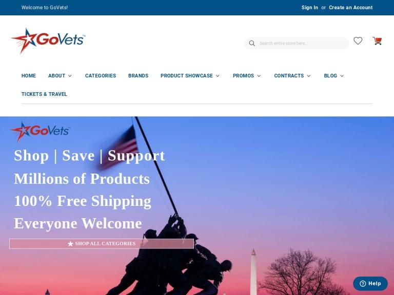 Veratics, Inc (DBA: GoVets) screenshot