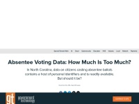http://www.govtech.com/data/Absentee-Voting-Data-How-Much-is-Too-Much.html